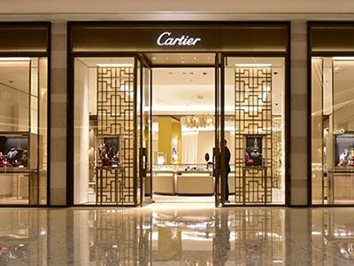 鼎富金属卡地亚(Cartier)的简约不锈钢屏风定制案例