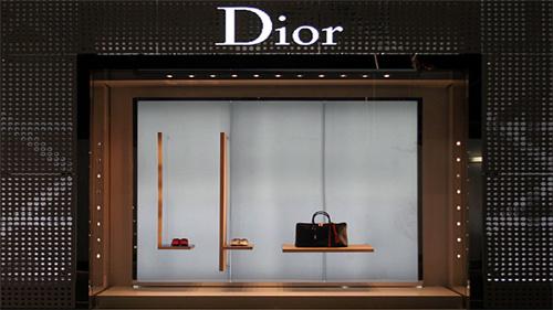 橱窗金属框架dior