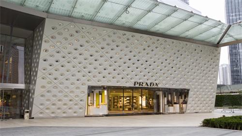 橱窗金属框架-prada